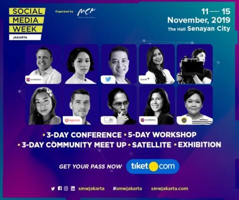 Social Media Week Jakarta 2019 Hadirkan 3 Topik Menarik