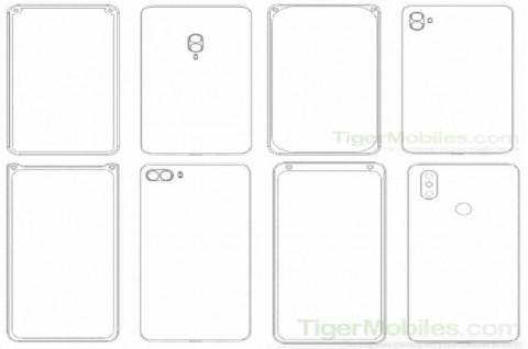 Xiaomi Patenkan Desain Kamera Depan Sudut