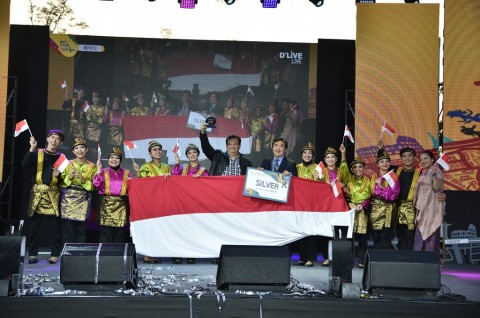 Indonesia Terima Medali Perak-World Culture Award di Seoul