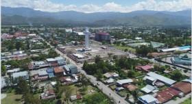 Menara Salib Jadi Ikon Kota Wamena
