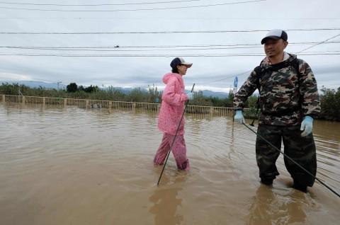 PM Jepang Bentuk Tim Penanggulangan Topan Hagibis
