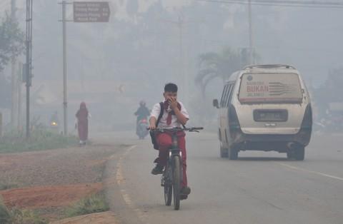 PAUD dan TK di Jambi Diliburkan karena Kabut Asap