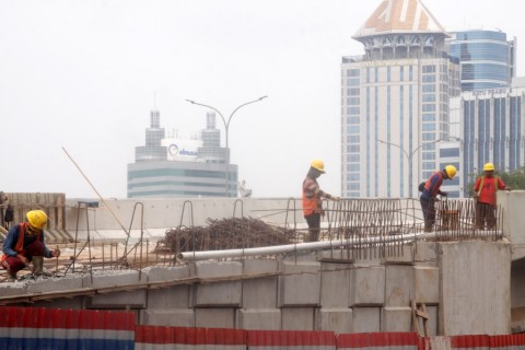 Penyebab Tiang Tol Desari Ambruk Masih Gelap