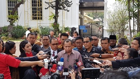 Warga Pendatang di Papua Temui Jokowi