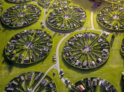 Inovatif, Pemukiman Bentuk  Lingkaran di Kopenhagen