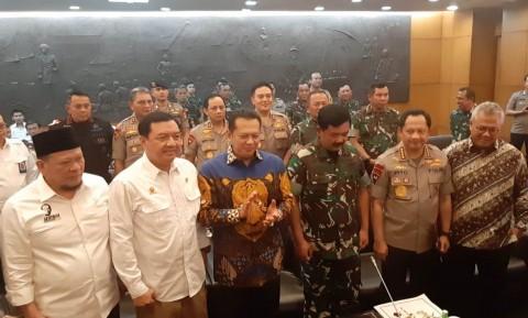 Rakor Persiapan Pelantikan Jokowi Dihadiri Pejabat Tinggi
