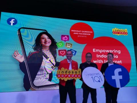 Indosat Gandeng Facebook Gelar Internet 1O1