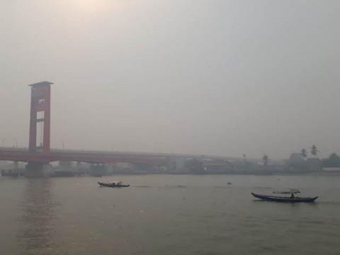 Kualitas Udara di Palembang Masuk Status Bahaya