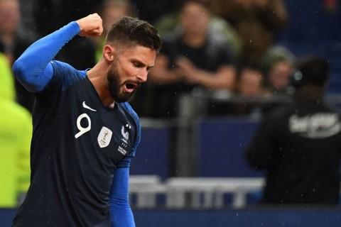 Deschamps Sarankan Giroud Hengkang pada Januari