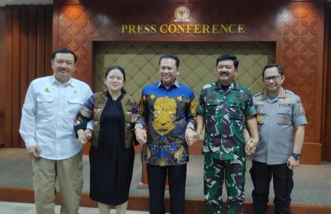 DPR Komitmen Bersinergi dengan Pemerintah