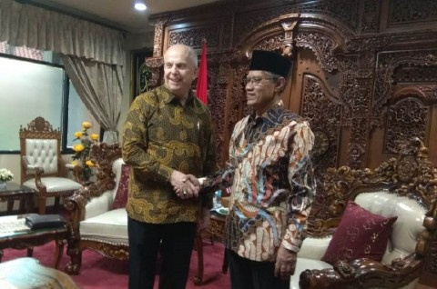 Dubes AS Bahas Uighur dan Rohingya Bersama Muhammadiyah