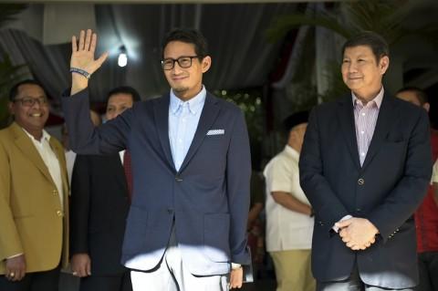 Sandiaga Kembali Jabat Wakil Ketua Dewan Pembina Gerindra