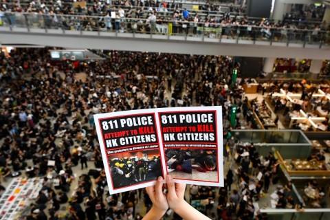DPR AS Setujui 'Undang-Undang Demokrasi' Hong Kong