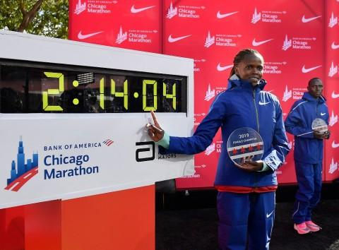 Kosgei dan Kipchoge Masuk Nominasi Atlet Terbaik IAAF