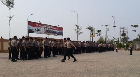 Gerakan Massa di Tangsel Jelang Pelantikan Diantisipasi
