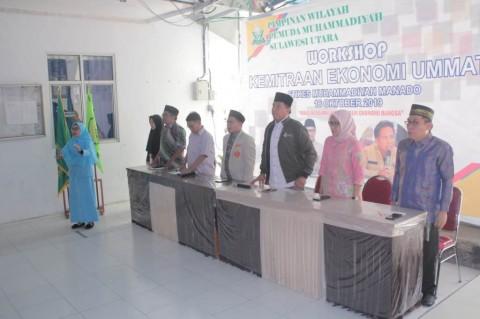 Pemuda Muhammadiyah Berbagi Ilmu Ekonomi Umat di Manado
