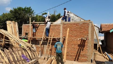 740 Rumah Tak Layak Huni di Kabupaten Tanggamus Diperbaiki