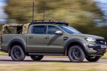 Ford Ranger Khusus Kendaraan Militer