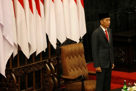 Jokowi Main Simbol Jelang Pengumuman Menteri