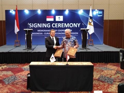 Indonesia-Eurasia Lanjutkan Komitmen Peningkatan Dagang