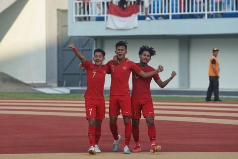 Susunan Pemain Timnas Indonesia U-19 vs Tiongkok U-19