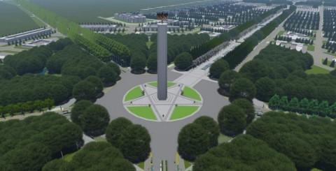 2020, Ibu Kota Baru Mulai Dibangun
