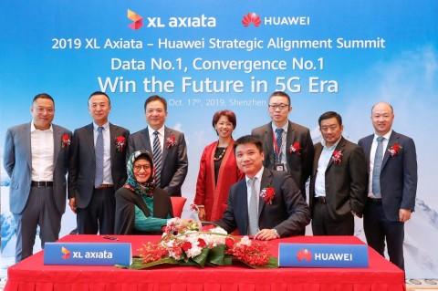 Huawei Dipilih XL Siapkan Dukungan Jaringan 5G