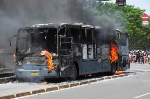 Bus Terbakar? Mayoritas Karena Masalah Kelistrikan