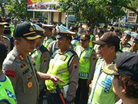 700 Polisi Siaga di Solo Selama Pelantikan Jokowi-Ma'ruf