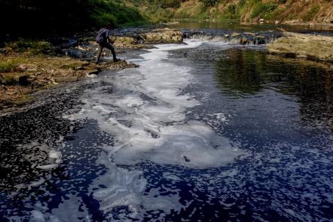 3 Camat Ditugaskan Deteksi Pencemar Sungai Cileungsi
