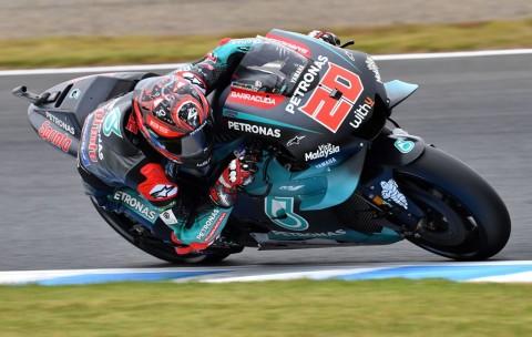 Quartararo Salip Vinales untuk Kuasai FP2 MotoGP Jepang