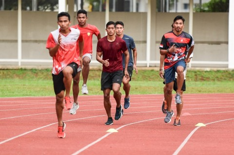 Tim Estafet Indonesia Masih Berkutat dengan Kekompakan Atlet