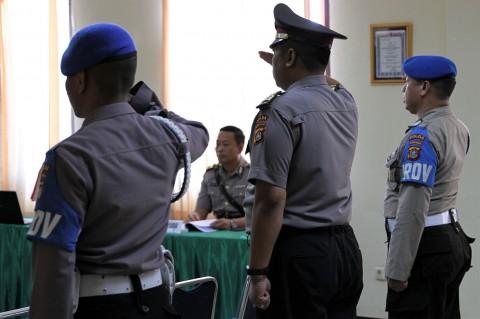 Eks Kasat Reskrim Kendari Jalani Sidang Disiplin