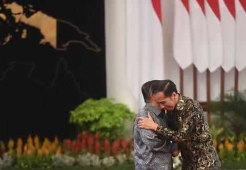 Momen Terakhir Jokowi - JK