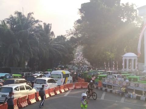 Polresta Bogor Sekat Tujuh Titik Rawan Pergerakan Massa
