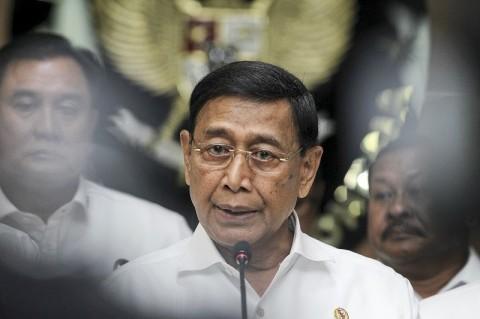 Wiranto Meninggalkan RSPAD