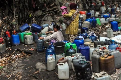 Sulitnya Warga Gunung Batur Cilegon Peroleh Air Bersih