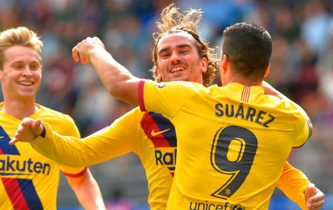 Babak I: Barcelona Unggul Berkat Griezmann