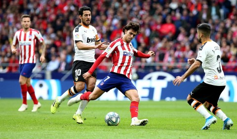 Atletico Madrid Gagal Tumbangkan Valencia