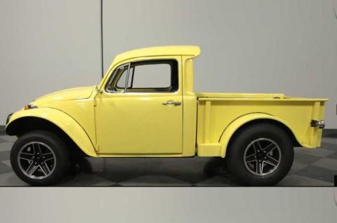Volkswagen Beetle Bertranformasi jadi Pikcup