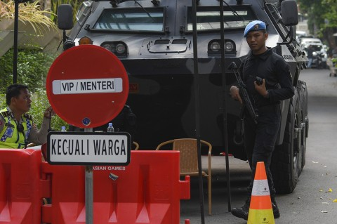 Jelang Pelantikan, Pengamanan di Kediaman Ma`ruf Amin Diperketat
