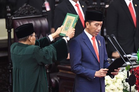 Jokowi-Ma'ruf Officially Inaugurated