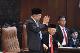 Penghargaan Tinggi Jokowi untuk JK