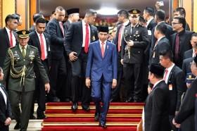 Jokowi Apresiasi Tamu Negara dan TNI Polri