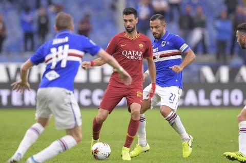 Roma Gagal Bawa Poin Penuh dari Markas Sampdoria