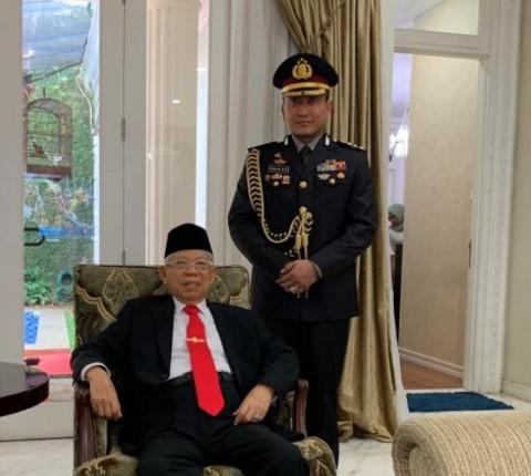 Kapolresta Tangerang Jadi Ajudan Ma'ruf Amin