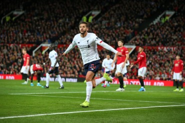 Lallana Gagalkan Kemenangan MU atas Liverpool