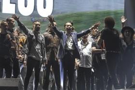 Jokowi Hadiri Konser Musik untuk Republik