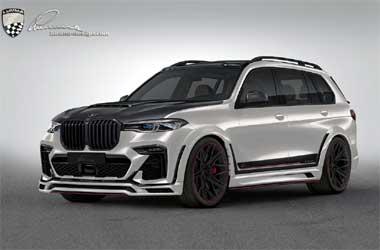BMW X7 Makin Ganteng dengan <i>Body</i> Kit Lebar