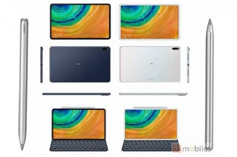Gambar Huawei MediaPad M7 Tampilkan Bodi Metal Bezel Tipis